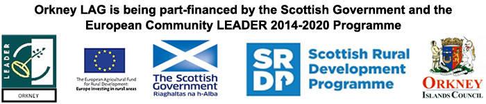 Orkney LAG is being part-financed by the Scottish Government and the European Community LEADER 2014-2020 Programme.