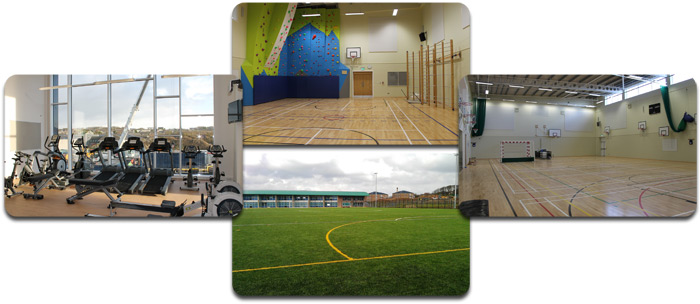 KGS Sports Centre facilities.