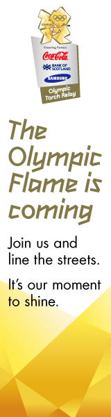 Official The London 2012 Olympic Torch Relay logo
