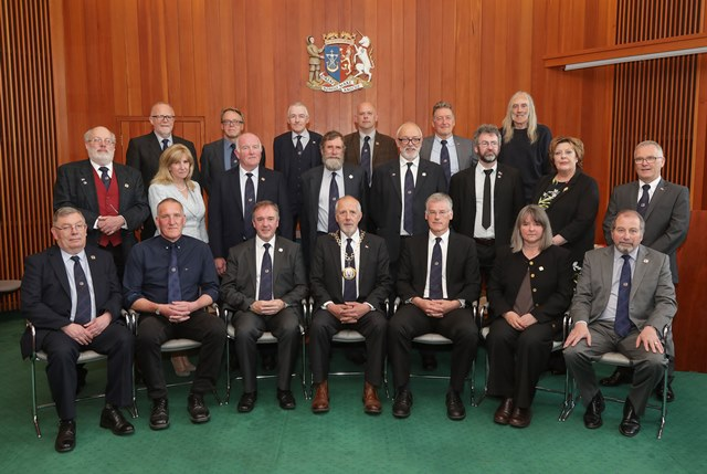 Councillors elected on 5 May 2017.