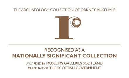 Museums Galleries Scotland logo for Recognised Collection of National Significance.
