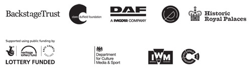 All logos of funding organisations.