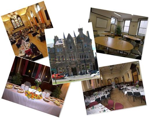 Images of Kirkwall and St Ola Community Centre.