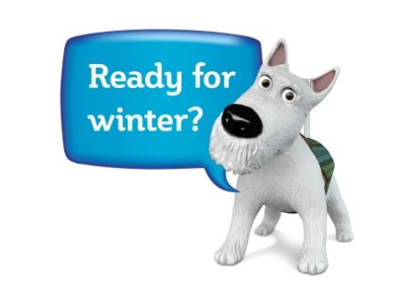 The Scottish Government's Winter Westie is asking if you are ready.